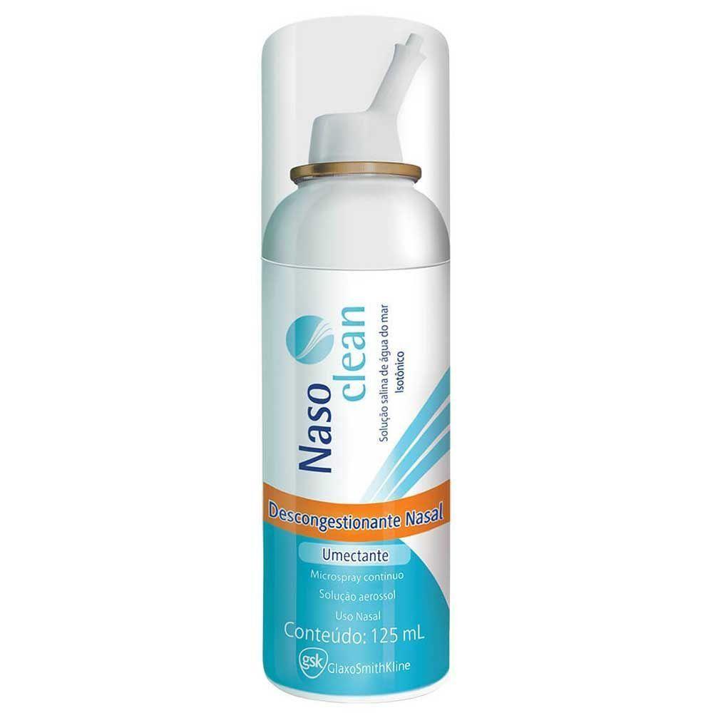 Nasoclean - 9mg/mL, caixa com 1 frasco com 125mL de solução de uso nasal