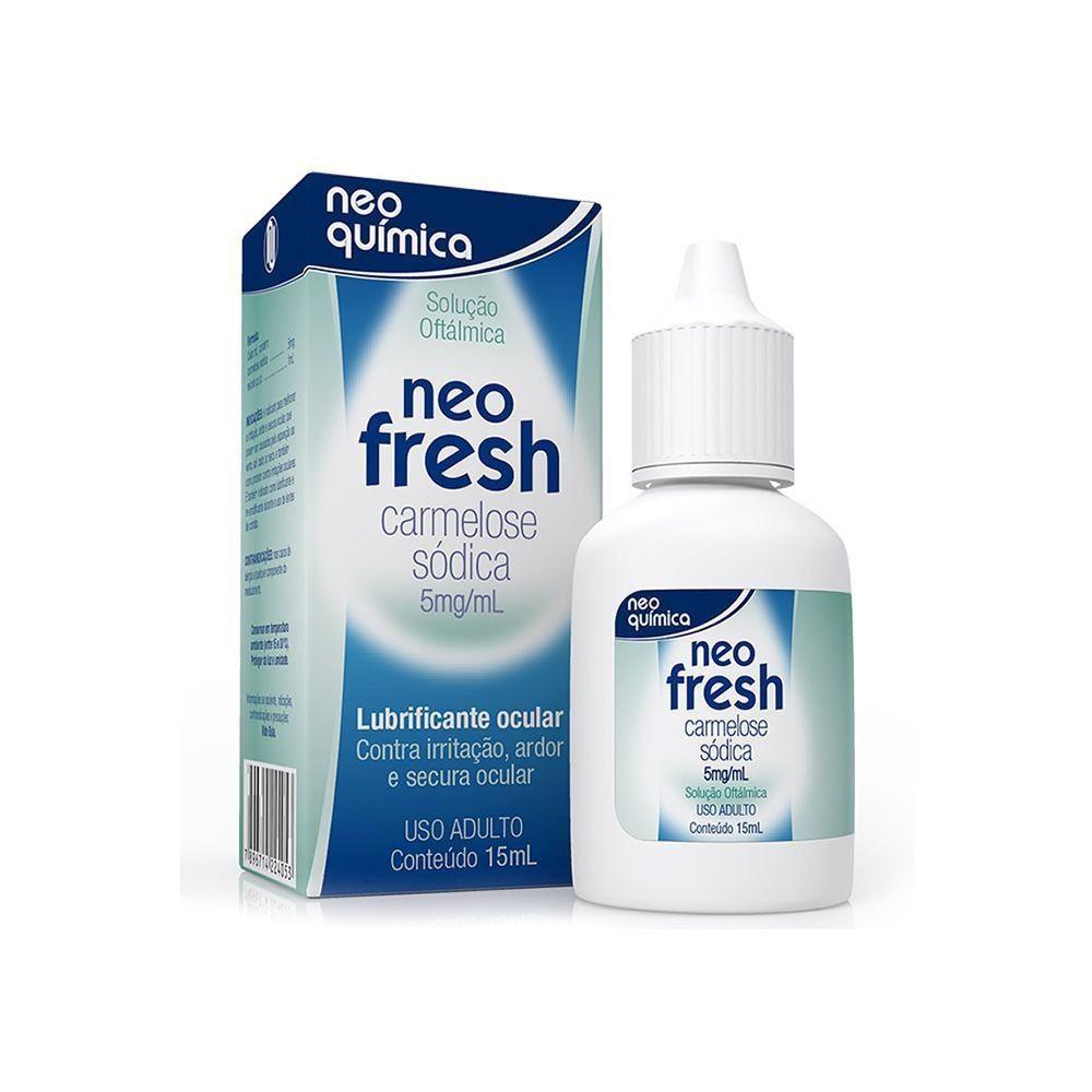 Neo Fresh Lubrificante Ocular com 15ml Neo Quimíca