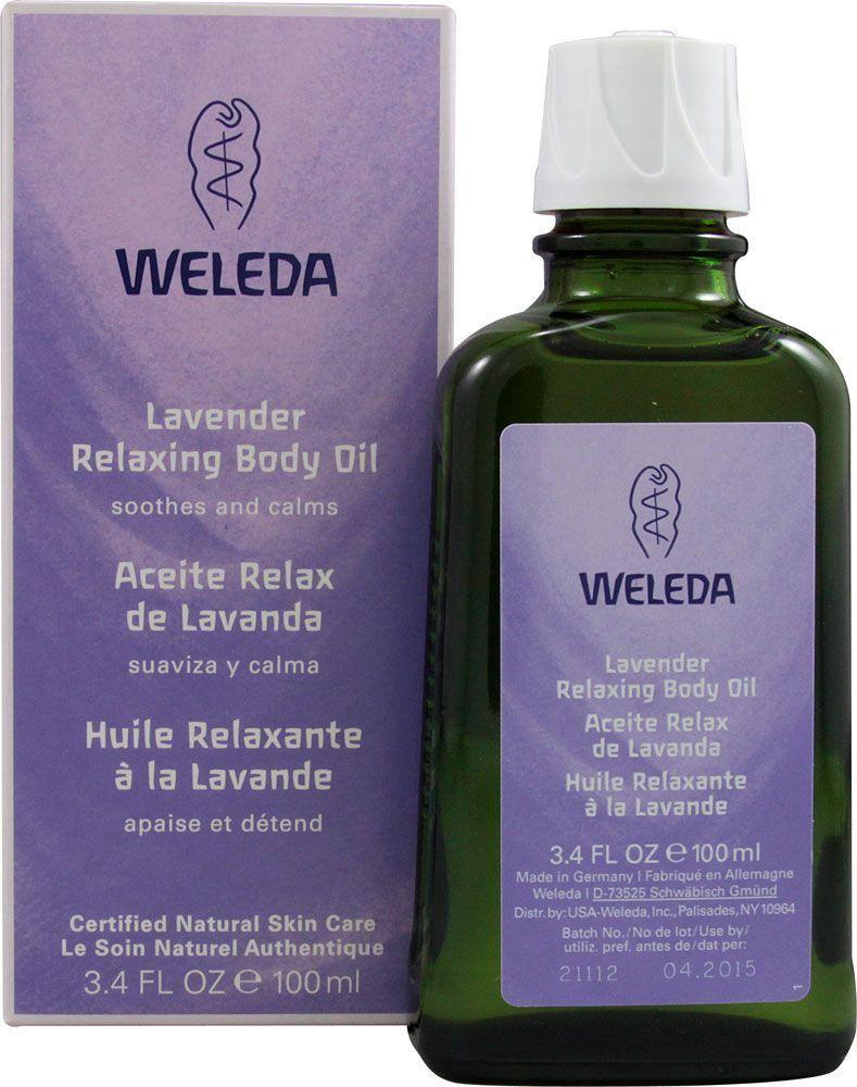 Óleo Relaxante Weleda Lavanda com 100mL