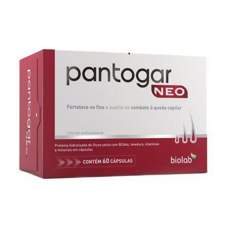 Pantogar Neo Com 60 Cápsulas