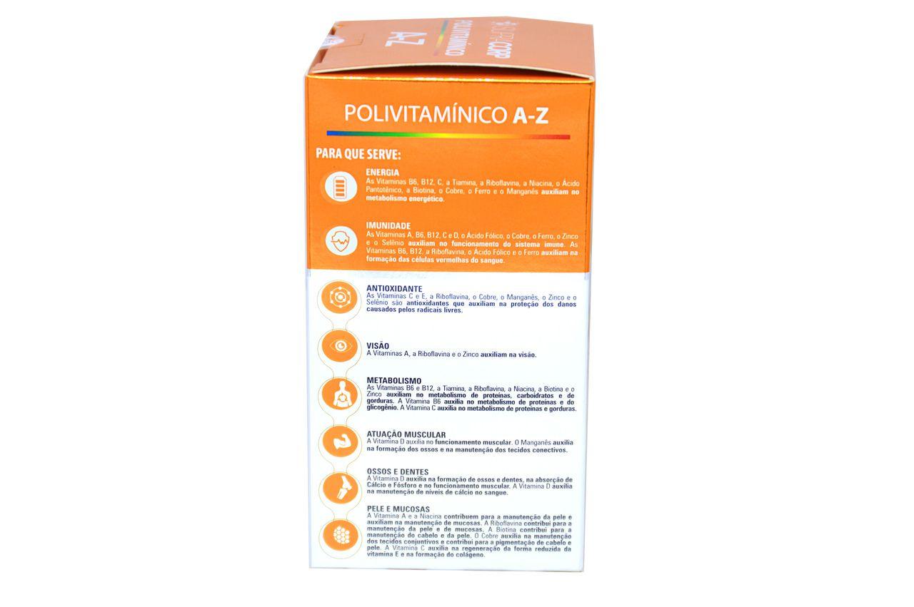 Polivitamínico A - Z com 60 Cápsulas