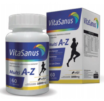 Polivitaminico de A-Z Vita Sanus 60 Cápsulas