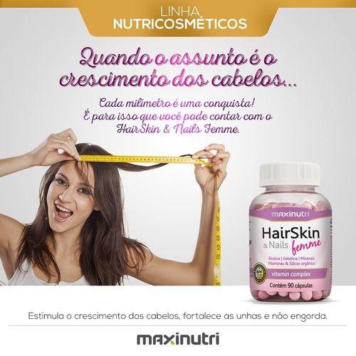 Polivitamínico HairSkin & Nails - Cápsula da Beleza - com 90 cápsulas