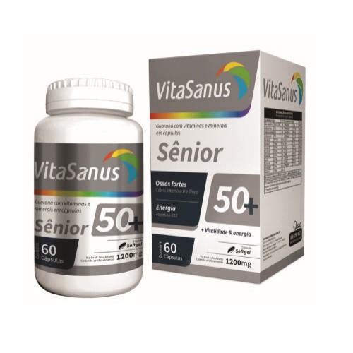 Polivitamínico para Idosos VitaSanus 50+ com 60 cápsulas