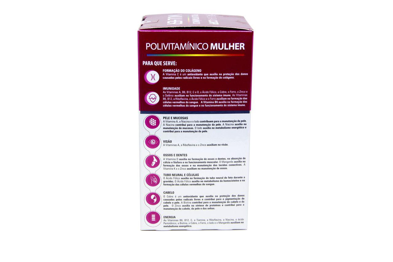 Polivitamínico para Mulheres com 60 cápsulas