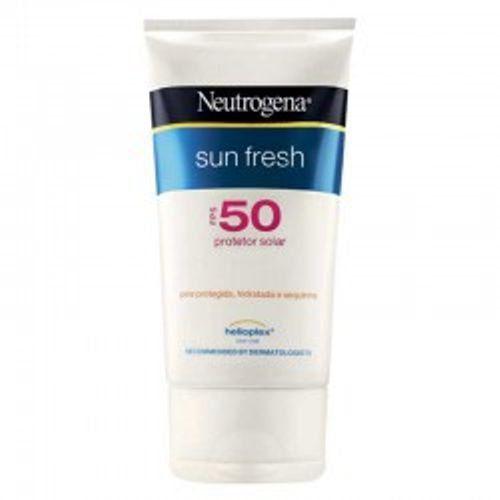 Protetor Solar Neutrogena sun fresh FPS-50 com 200ml