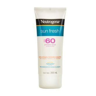 Protetor Solar Sun Fresh FPS 60 200 ml