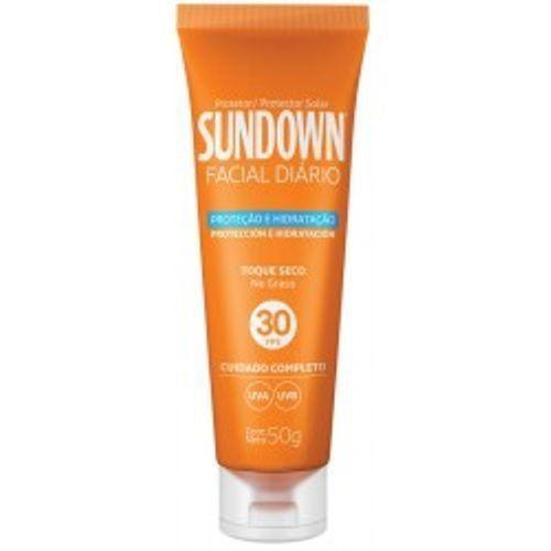 Protetor Solar Sundown Facial Diário FPS 30 50g