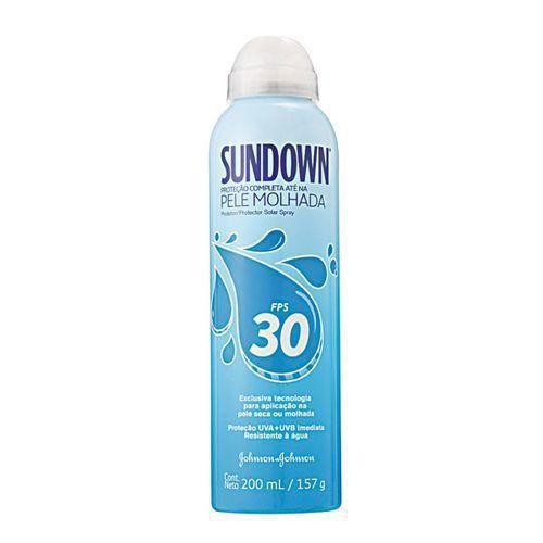 Protetor Solar Sundown Pele Molhada Spray FPS 30 200ml