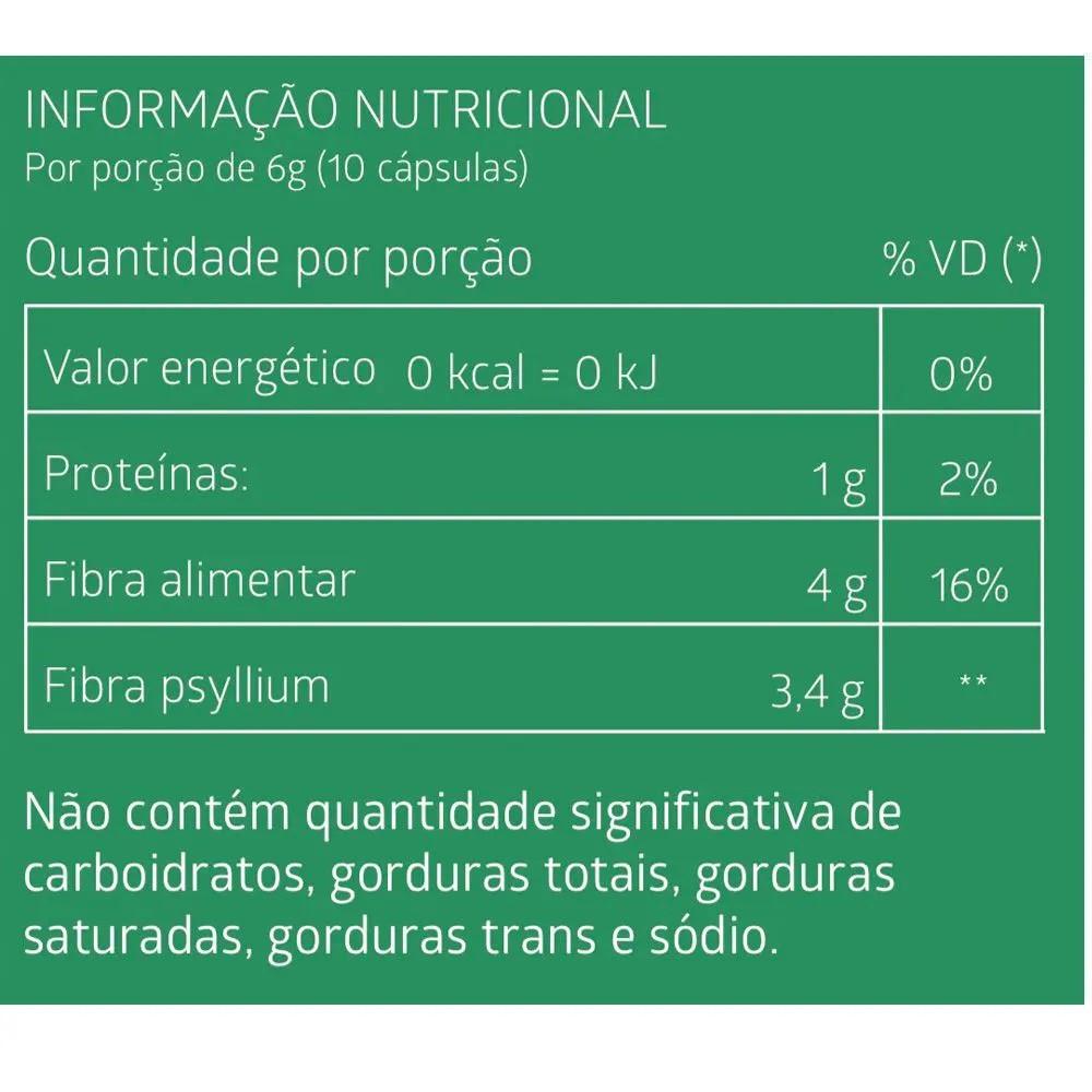Regulador Intestinal Com Psyllium Actife Litee Com 60 Cápsulas