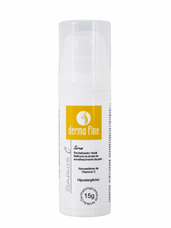 Sérum Vitamina C Anti-Idade Revitalizador Facial Saphis C 15g