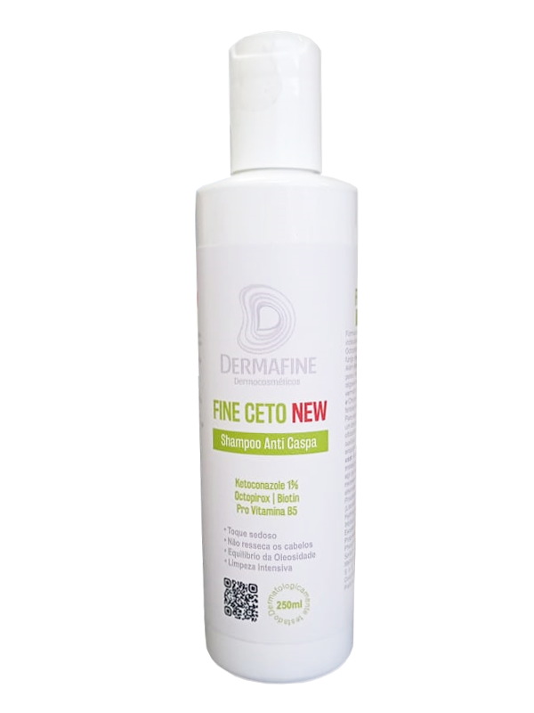 Shampoo Anti-Caspa Fine Ceto DermaFine 250mL
