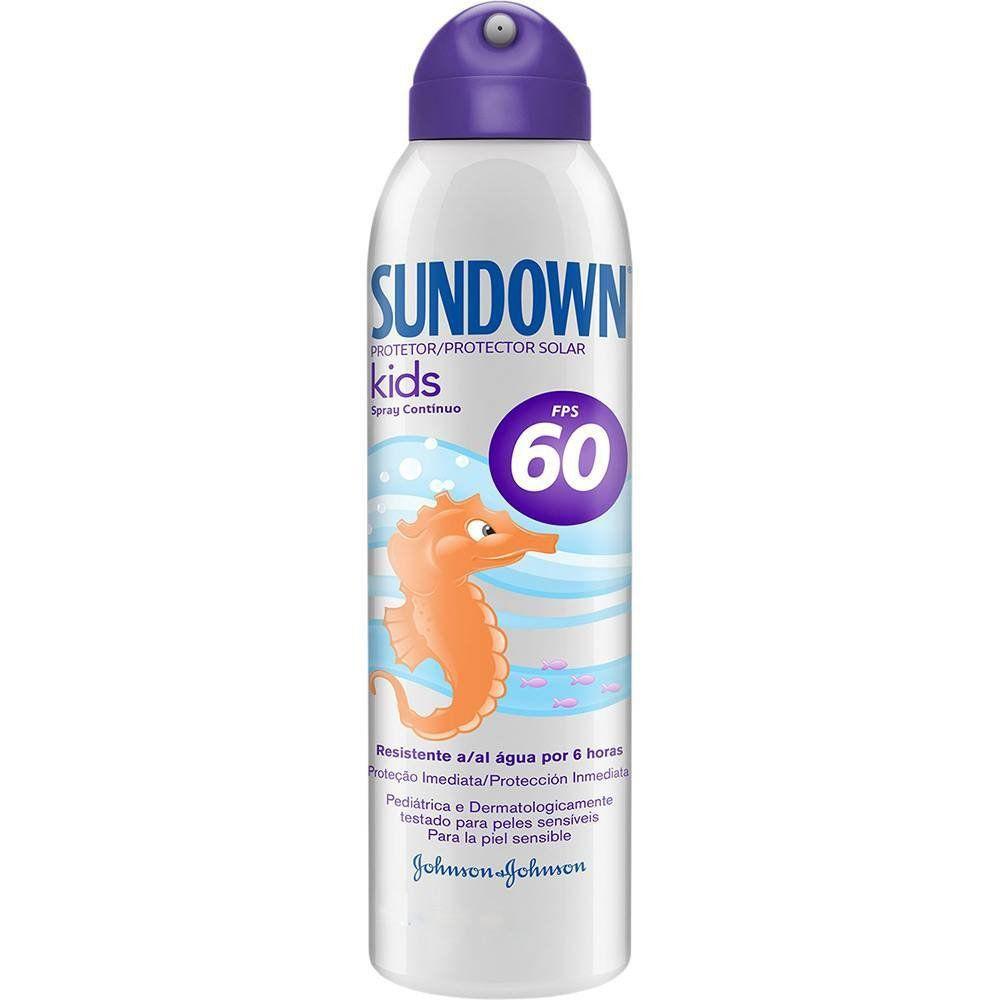 Sundown Kids Spray Protetor Solar FPS-60 com 150ml