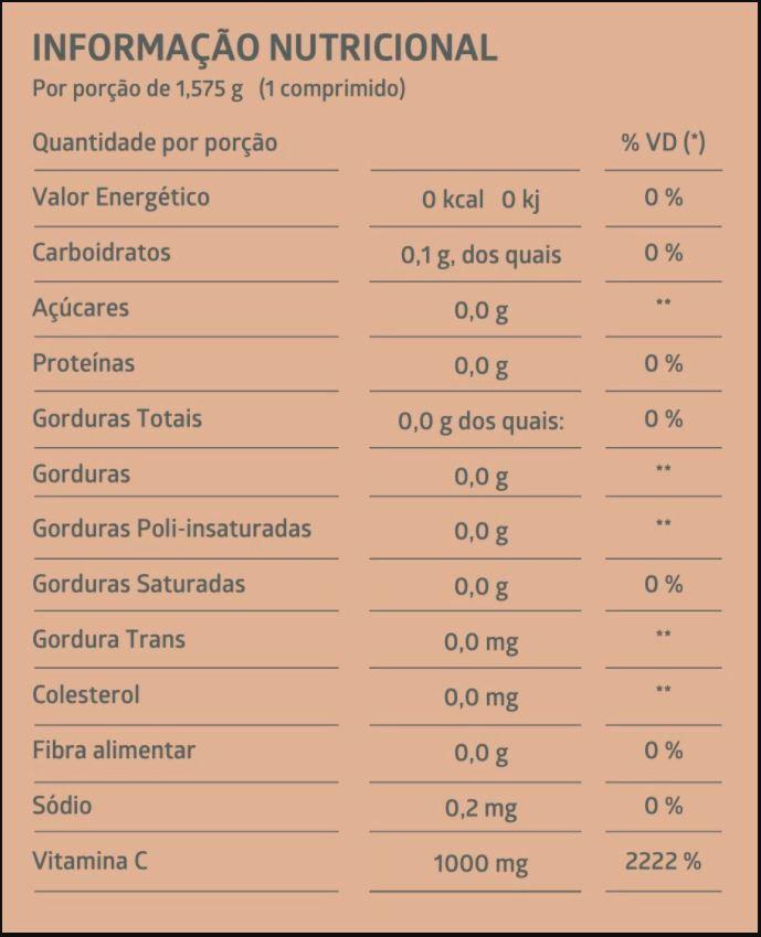 Suplemento Alimentar de Vitamina C Litee