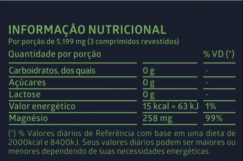 Suplemento de Cloreto de Magnésio PA Litee c/ 60 comprimidos