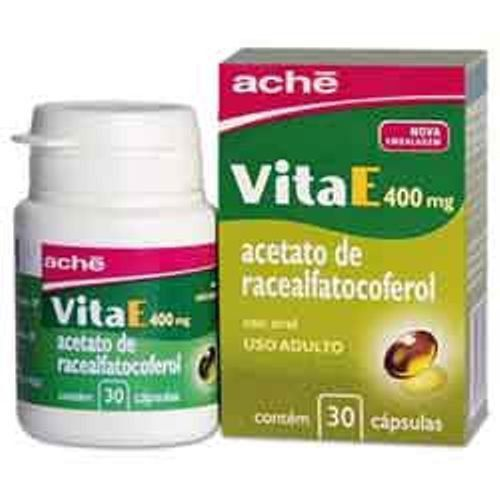 VitaE 400mg com 30 Cápsulas Gelatinosas Ache