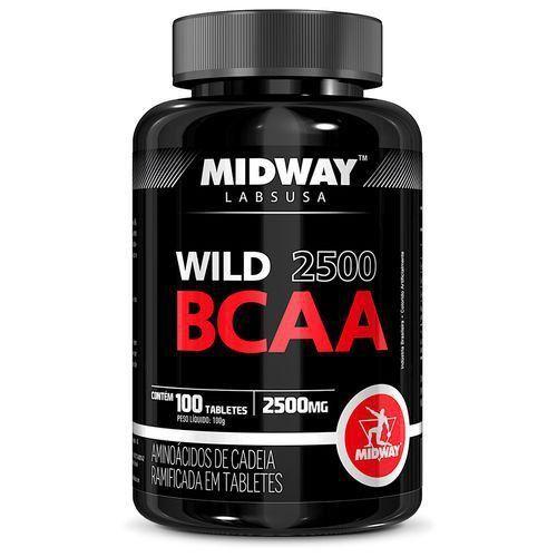 Wild BCAA 2500 Midway 100 Tabletes