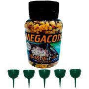 kit 1 Adubo Megacote 16-16-16 100g + 5 Unidades Porta Adubo