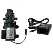 Bomba 100PSI + Fonte + Controle Pressão + Plug Energia