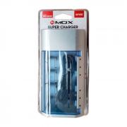 Carregador Universal De Pilhas Aa/aaa/c/d/Bat 9v Mox