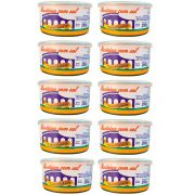 kit 10 Unidades De Manteiga Com Sal 200g Lata Tavolaro