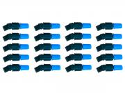 Kit 20 Unidades Bico Cônico Regulável Azul