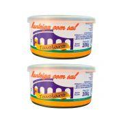 kit 2 Unidades De Manteiga Com Sal 200g Lata Tavolaro