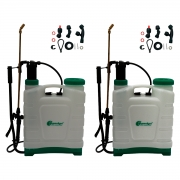 Kit 2 Unidades Pulverizador Costal Manual 20 Litros SuperAgri SAPCM20L