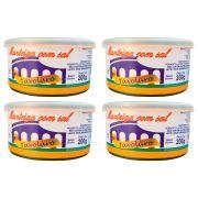 kit 4 Unidades De Manteiga Com Sal 200g Lata Tavolaro