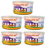 kit 5 Unidades De Manteiga Com Sal 200g Lata Tavolaro