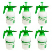 Kit 6 Unidades Pulverizador Borrifador Manual 2 Litros  SAPPA2L SuperAgri