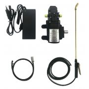 Kit Motor Diafragma 80psi, Fonte, Controle Pressão, Lança e Gatilho