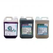 Kit Produtos De Limpeza 5 Litros (detergente, desincrustante e bactericida)