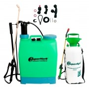 Kit Pulverizador Manual 20 L SuperAgri SAPCM20L + Pulverizador Manual 8 L SuperAgri SAPPA8L