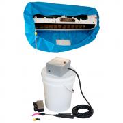 Lavadora Elétrica 18L 80PSI Caixa Proteção + Bolsa Coletora até 18000 BTUS