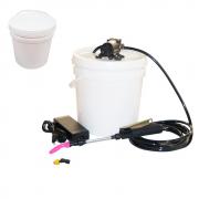 Lavadora Elétrica 12L 100PSI + Balde de Plástico com Tampa 12 Litros