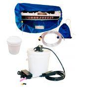 Lavadora Elétrica 12L 100PSI + Bolsa Coletora até 12000 + Balde de Plástico com Tampa 12 Litros