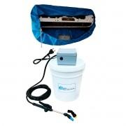 Lavadora Elétrica 18 Litros 100 PSI Caixa Proteção + Bolsa Coletora Até 12000 BTUS