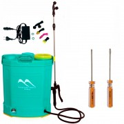 Pulverizador Costal Elétrico 18 L + Brinde Kit de Chave