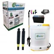 Pulverizador Costal Elétrico 20 Litros Bateria Recarregável 80 PSI