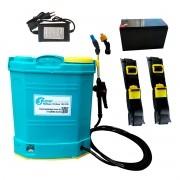Super Lavadora Com Bateria Recarregável 18 Litros SuperAgri SLBR18L100P