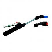 Tubo da Lança 13 cm + Bico Cônico Regulável Azul + Bico Leque + Gatilho