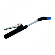 Tubo da Lança 13 cm + Bico Cônico Regulável Azul + Gatilho