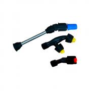 Tubo da Lança 15 cm + Bico Regulável + Bico Leque + Bico Duplo Leque