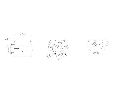 Kit 2 Motor 3v Aplicador De Herbicida Puro
