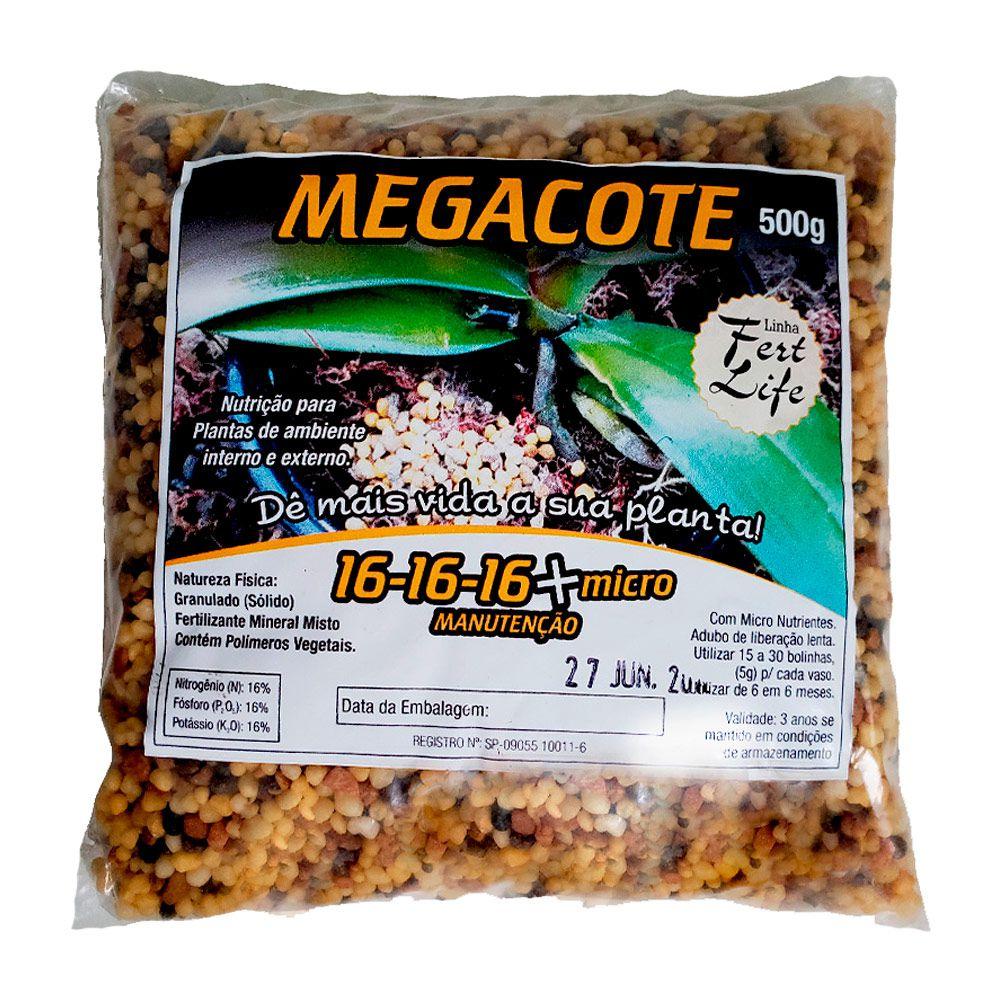 Adubo Megacote 16-16-16 500g