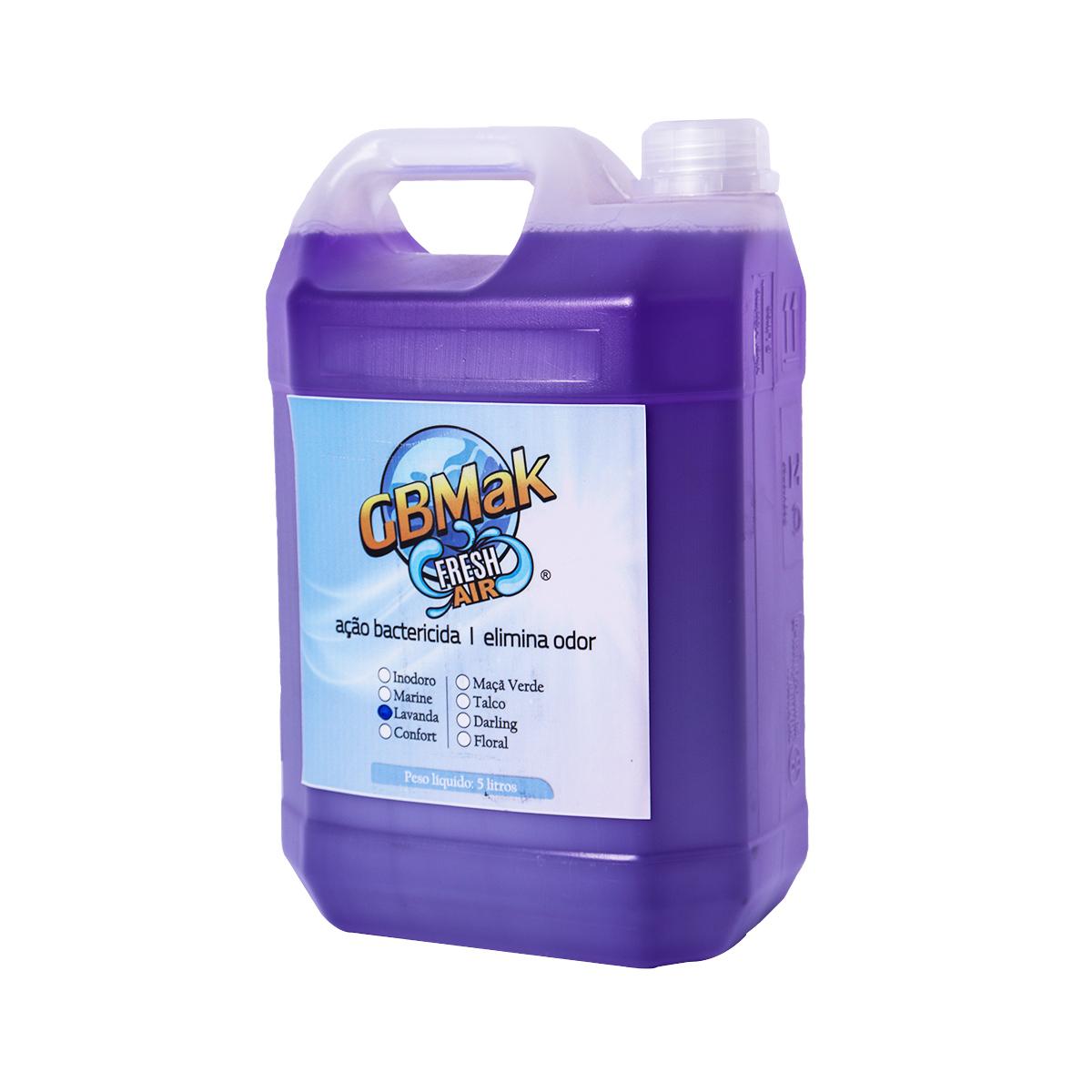 Bactericida Fresh Air 5 Litros Aroma Lavanda