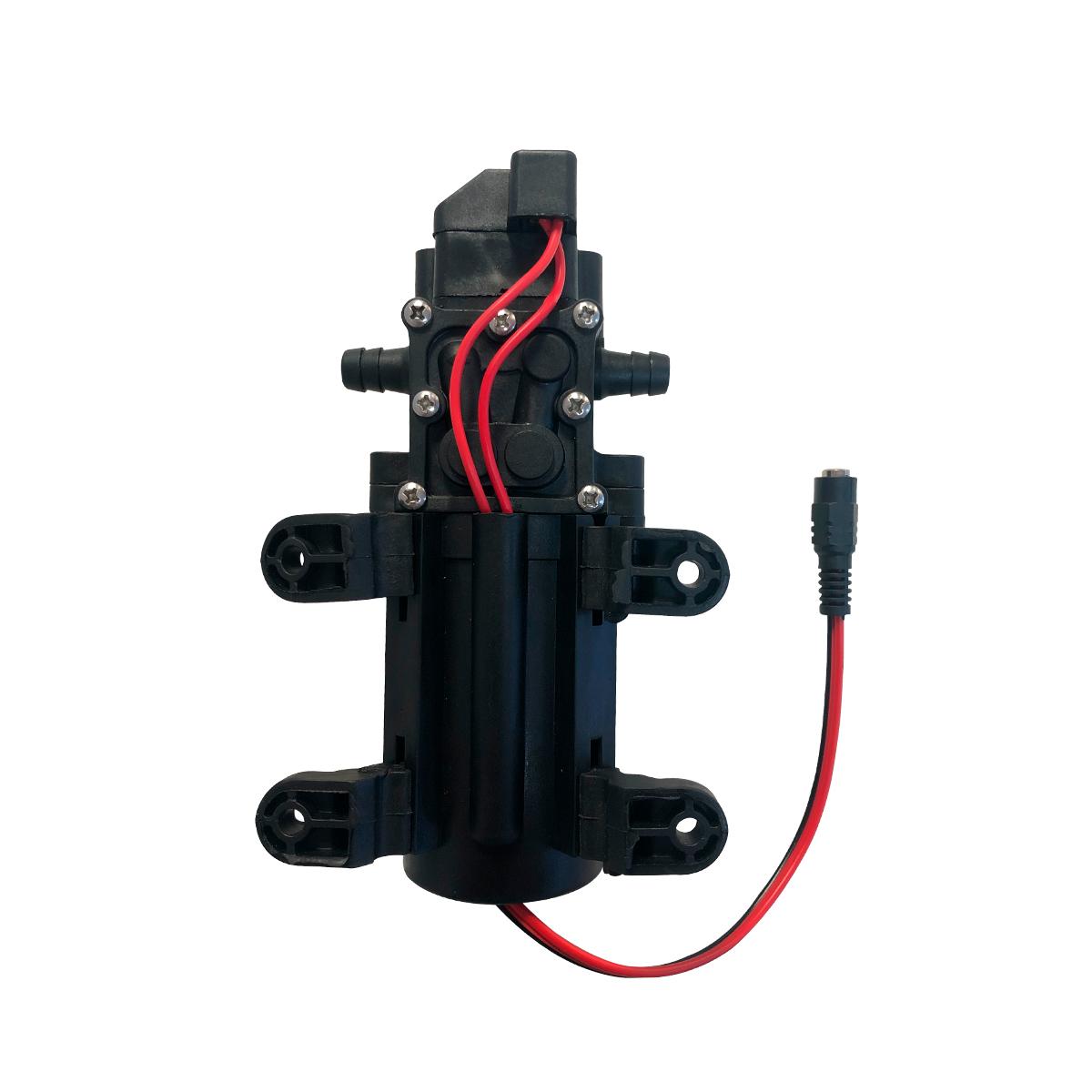 Bomba Diafragma 100 Psi + Fonte Alimentação + Plug Energia
