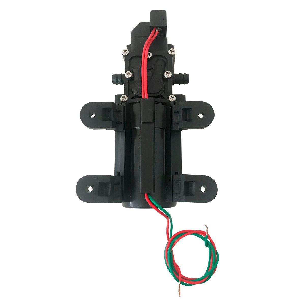 Bomba Diafragma 80 Psi + Fonte Alimentação + Plug Energia