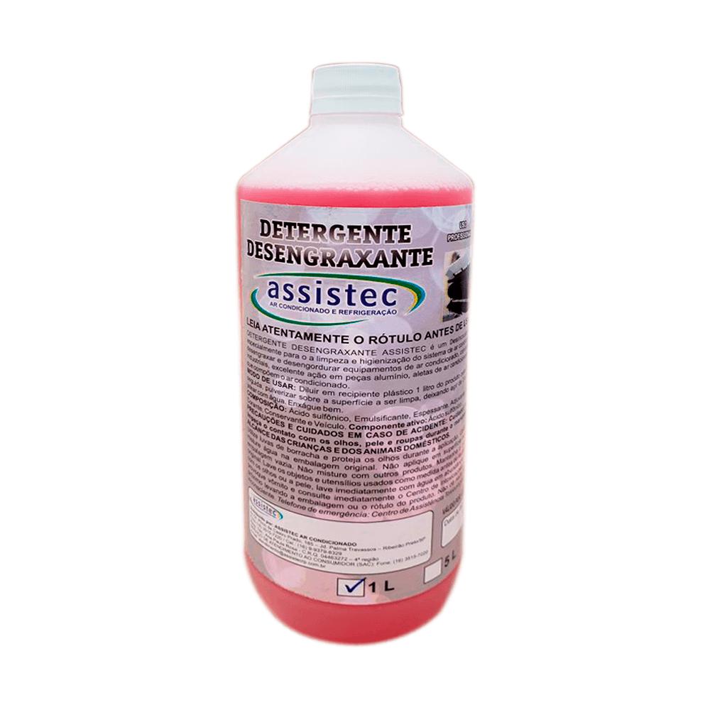 Detergente Desengraxante Assistec De 1 Litro
